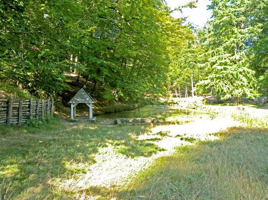 La fontaine de la Coudre, patrimoine culturel et naturel à préserver