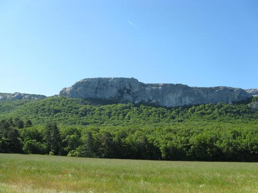 La montagne de la Sainte-Baume