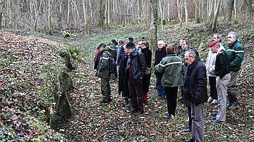 Le comité national d'orientation en forêt de Verdun