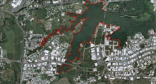 Le périmètre de la zone concernée est de 11km