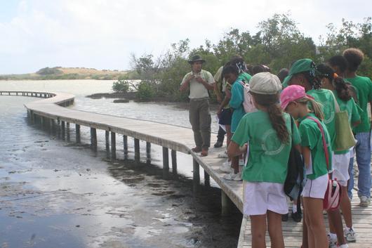 La protection des milieux humides littoraux passe par un important volet de sensibilisation