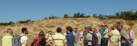 L'ONF a présenté quelques unes des actions menées en forêt et dunes domaniales du Pays de Monts
