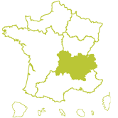Carte DT Auvergne Rhône-Alpes