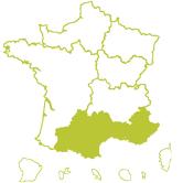 Carte DT Midi Méditerranée