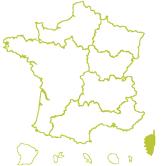 Carte DR Corse