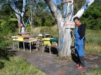 Un pavillon est dédié à l'univers de la ruche