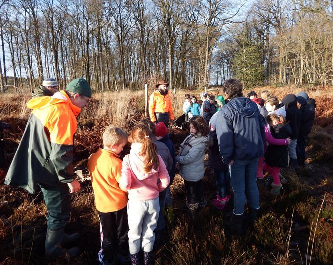 """Les enfants de Marigné-Laillé ont été très motivés par le projet de solidarité """"Graine de forêt"""""""