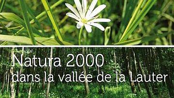 La couverture de la plaquette de présentation du site Natura 2000