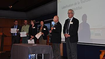 Remise du Label Ramsar pour la tourbière de Moltifao