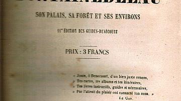 Couverture 11ème édition : cette onzième édition paraît en 1855. C'est dire le succès des guides Denecourt