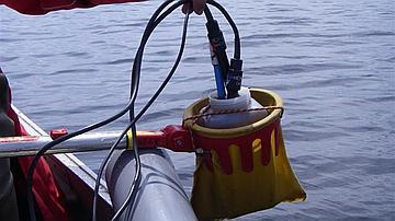 Opération d'analyse physico-chimique des eaux du marais