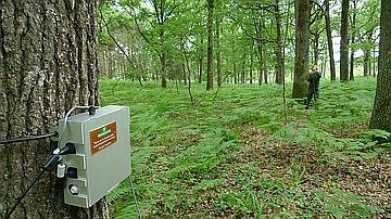 Un capteur nocturne utilisé par les naturalistes pour effectuer leurs relevés