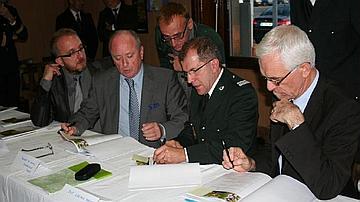 Le protocole d'accord Forêt d'Exception a été signé le 22 octobre 2011