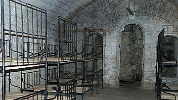 La visite des grands forts permet de se rendre compte des conditions de vie des soldats
