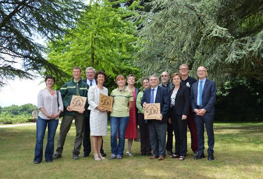Les trois forêts du massif de la Montagne de Reims reçoivent le label le 28 juin 2017