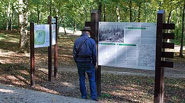 Les panneaux pédagogiques du Champ de bataille de Verdun