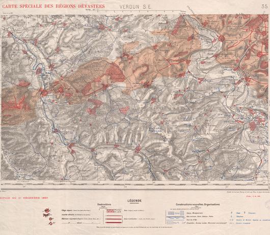 """Carte de la zone concernée placée en """"zone rouge"""""""