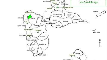 Carte de situation de la forêt départementale