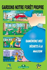 Cette affiche a été largement distribuée aux établissements scolaires de l'île