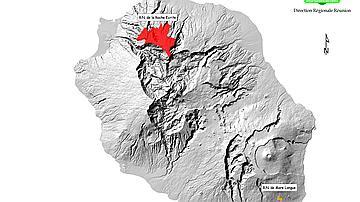Carte des réserves naturelles