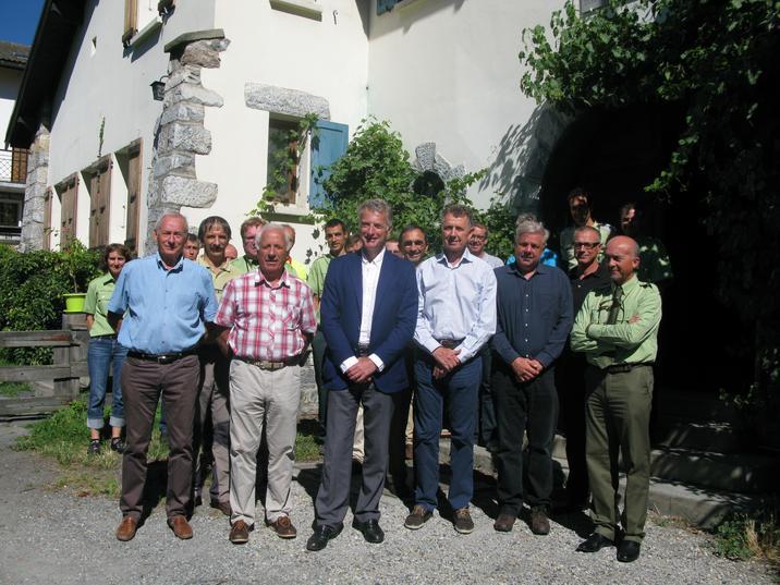 Onf inauguration des locaux r nov s de l 39 unit - Bourg saint maurice office du tourisme ...