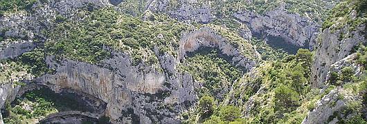 La Combe de Vidauque, un paysage caractéristique de la réserve