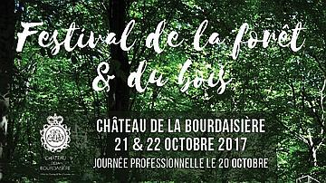Affiche - Festival de la forêt et du bois