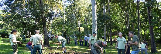 Une belle action de préservation de nos forêts à laquelle ont pris part nos collègues forestiers