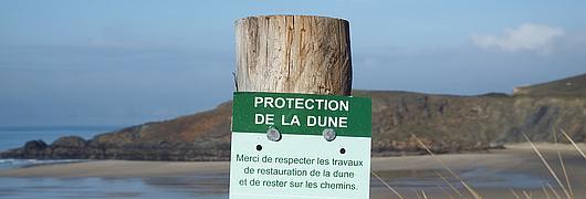 Les dunes nous protègent, ensemble, protégeons-les !
