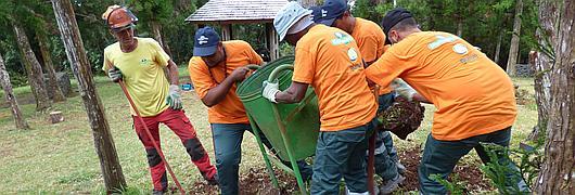 Moins de poubelles, pour moins de déchets en forêt