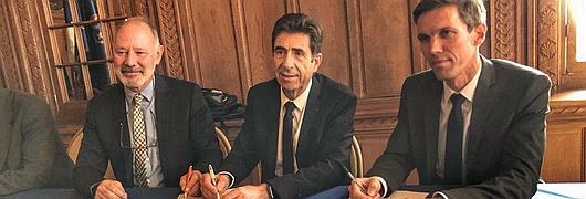 Signature de la convention de partenariat entre l'ONF et le Parc national du Mercantour