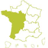 Carte DT Centre Ouest Aquitaine