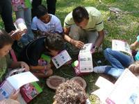 Les enfants deviennent acteurs de la forêt aux côtés du forestier