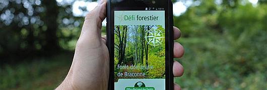 Découvrir la forêt sur smartphone !