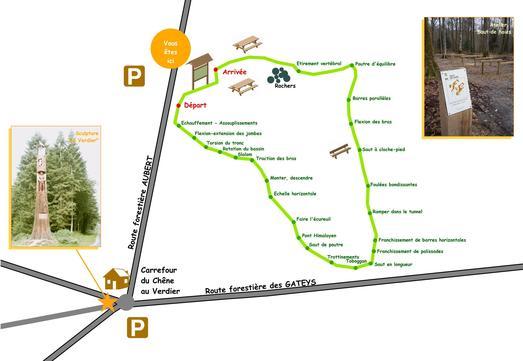 Le plan du parcours