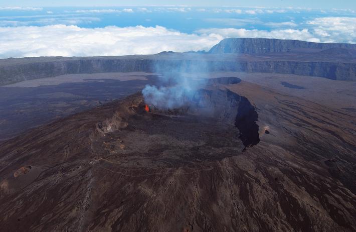 La Réunion, île volcanique de l'océan indien