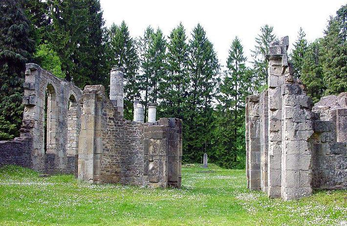 Le village d'Ornes fait partie des neuf villages détruits pendant la bataille de 1916, et dont il reste aujourd'hui que des ruines