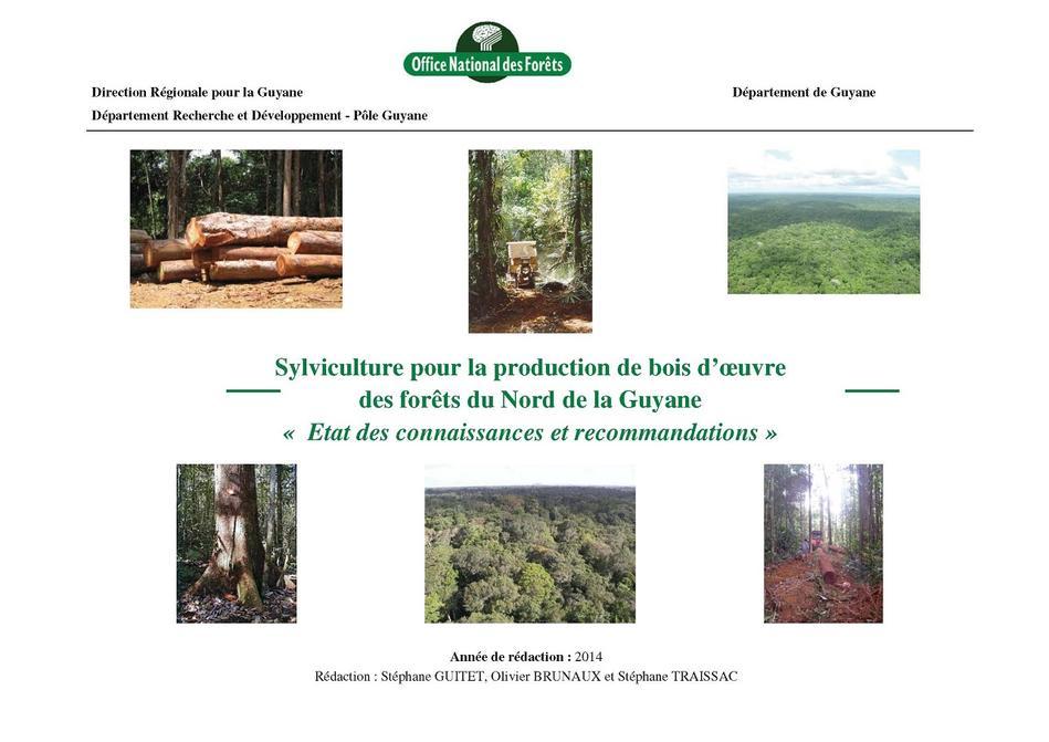 Onf guide de sylviculture pour la production de bois d - Office des oeuvres universitaires pour le centre ...
