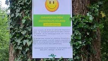 Une signalétique pour vous accompagner - Ce sourire vous indique que vous pouvez vous promener !