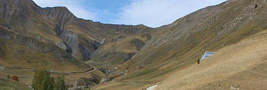 Le vallon de Sestrière