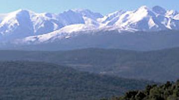 Le versant Est du massif du Canigou