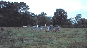 The weather station at the Rennes State forest